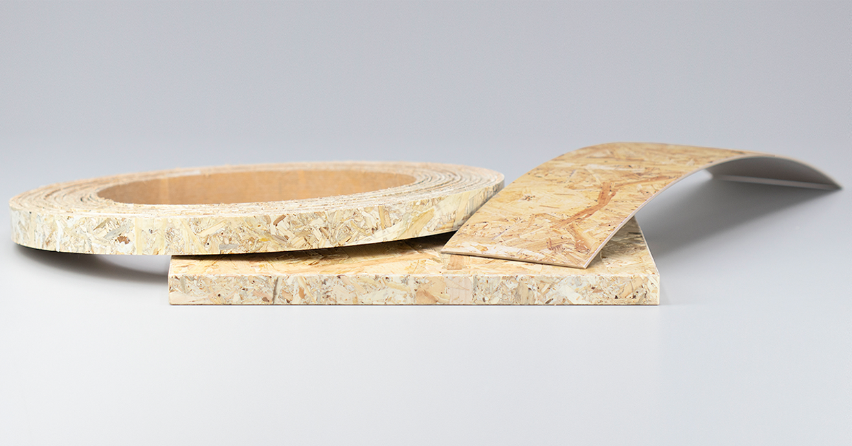Ostermann's OSB-matched ABS edging