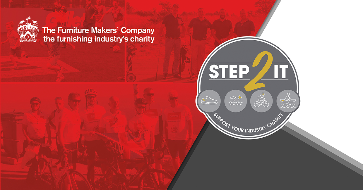 Step 2 It and support your industry charity to raise £250,000