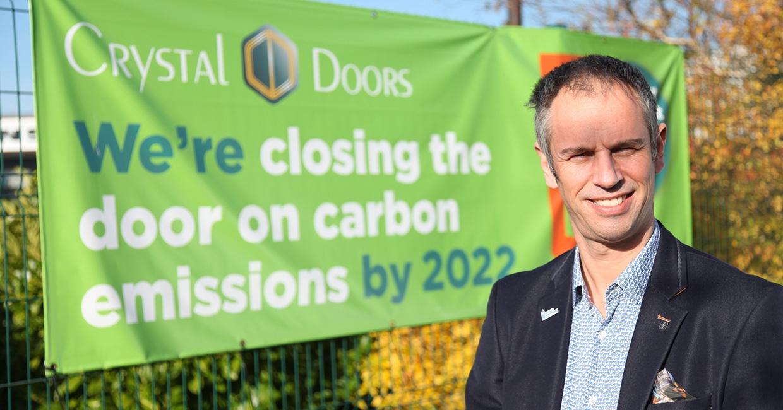 Crystal Doors' managing director Richard Hagan