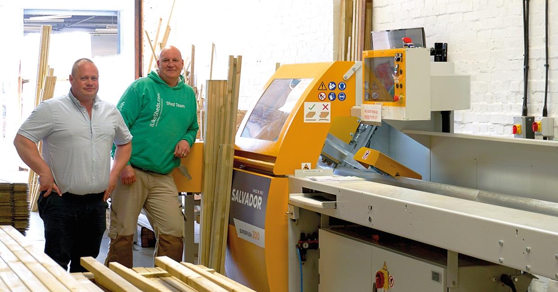 Salvador doubles productivity for shed manufacturer