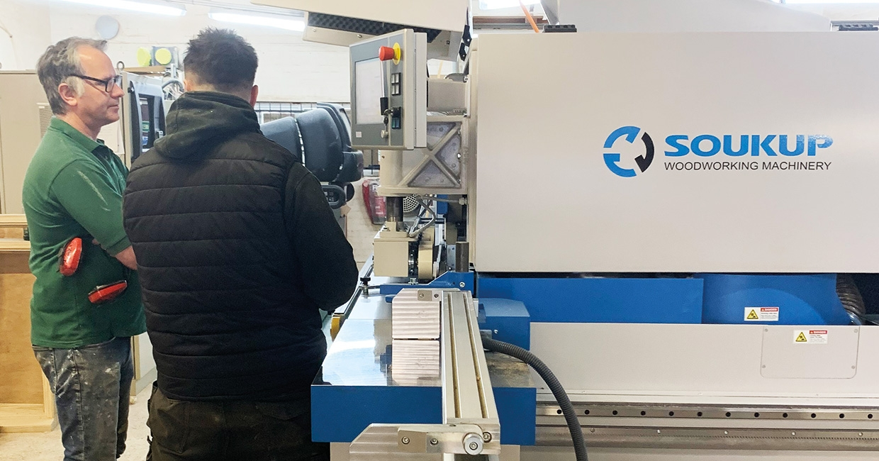 Dorset joinery firm impressed with outstanding window and door CNC machine performance