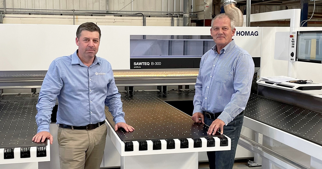 Duncan Reeds select Homag machinery