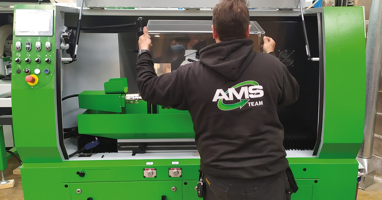 AMS can service all kinds of woodworking machines