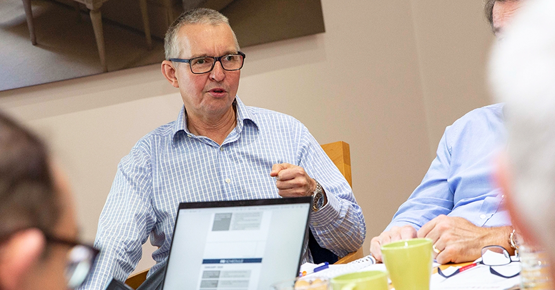 Managing director of the BFM, Nick Garratt
