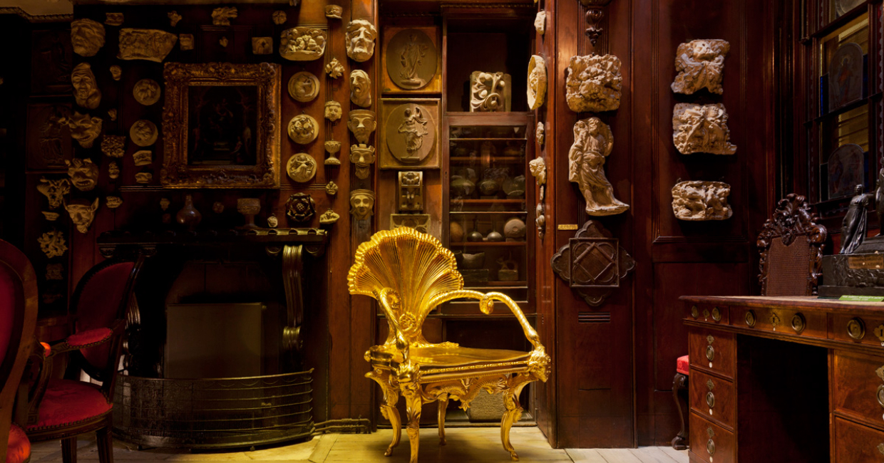 In context at the Sir John Soane Museum