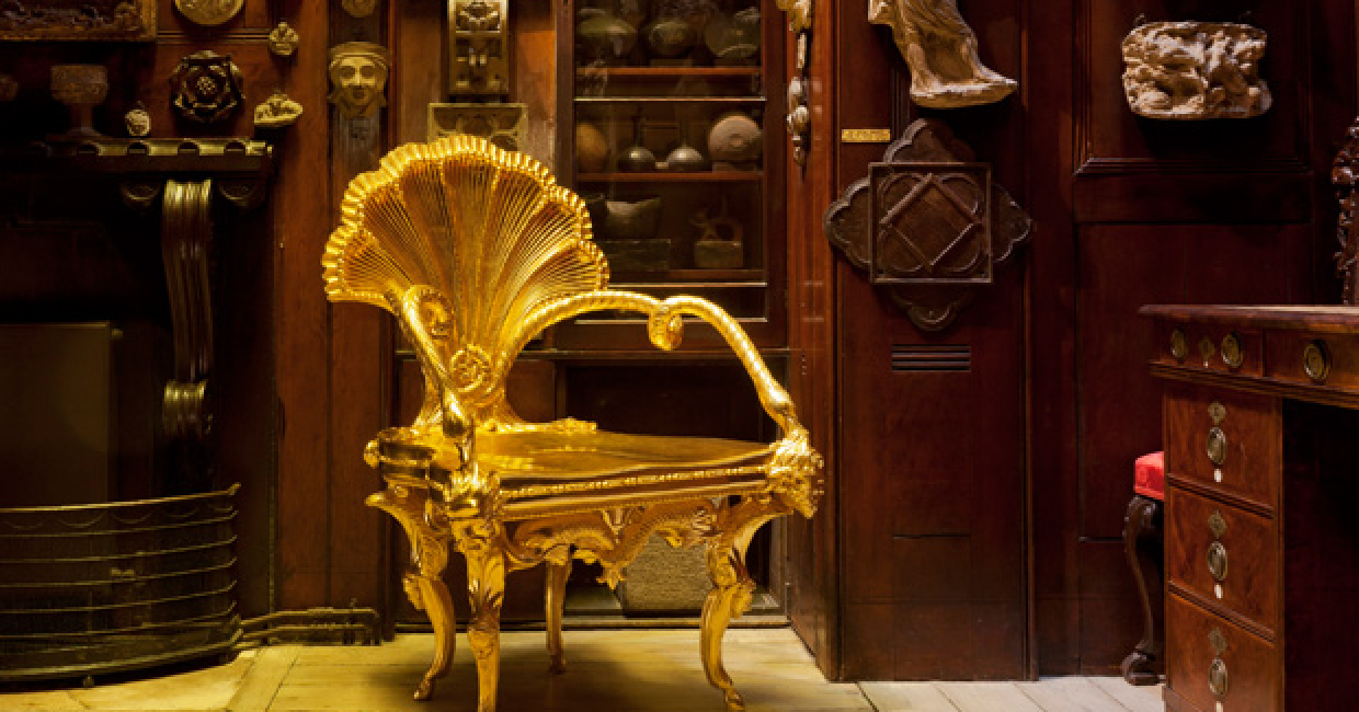 3D printing allows visitors to see what the furniture would have looked like