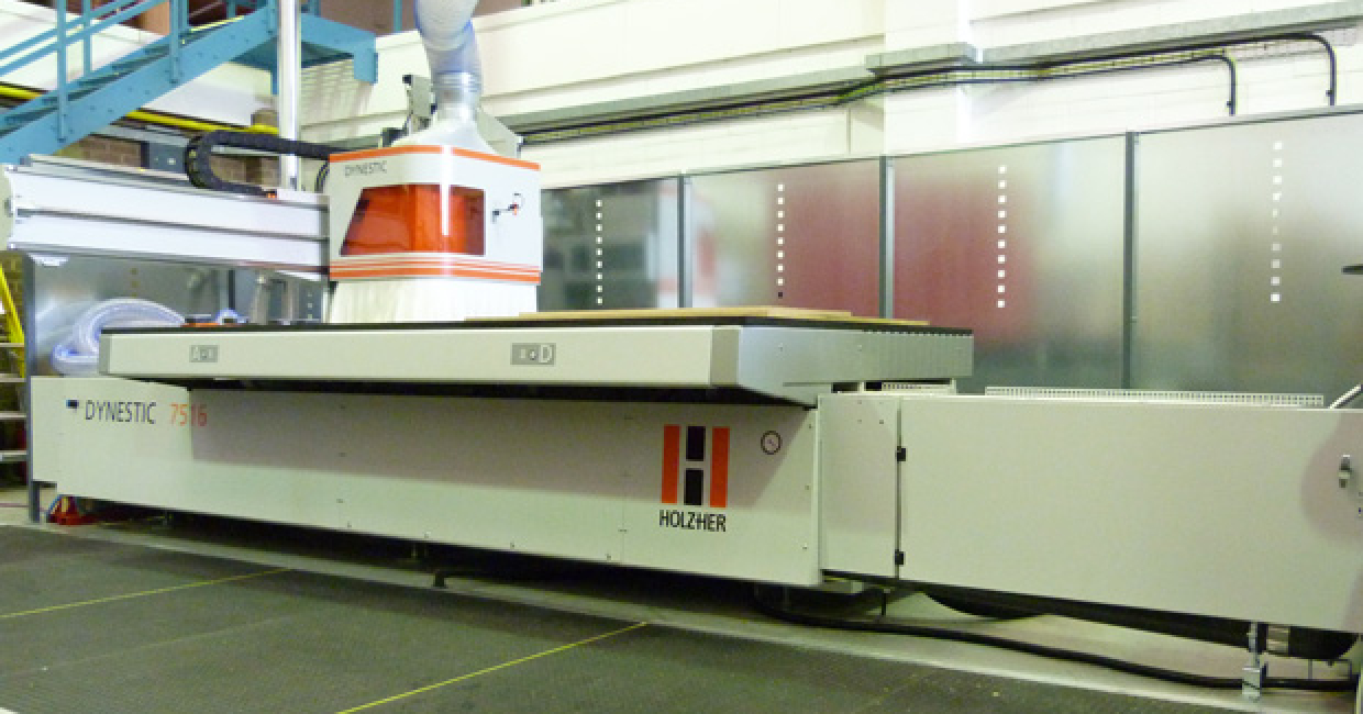 Leitz will demonstrate its tooling capabilities on a Holz-Her Dynestic 7516 CNC, courtesy of Weinig UK