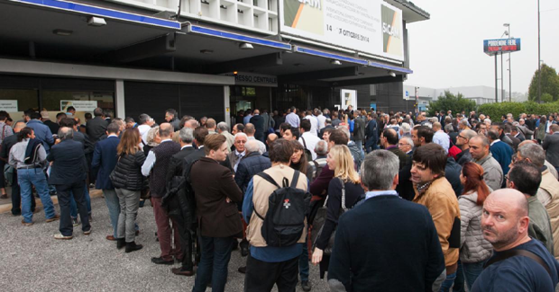 Sicam is held in Porenone, Italy