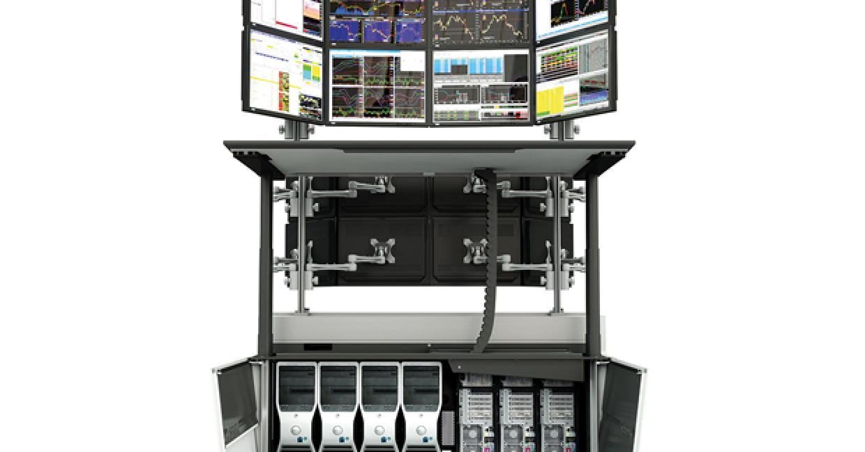 Height-adjustable desk from SBFI's Aspect Desking range