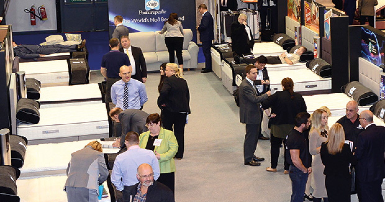 The Bed Show takes place in Telford on the 20th and 21st September