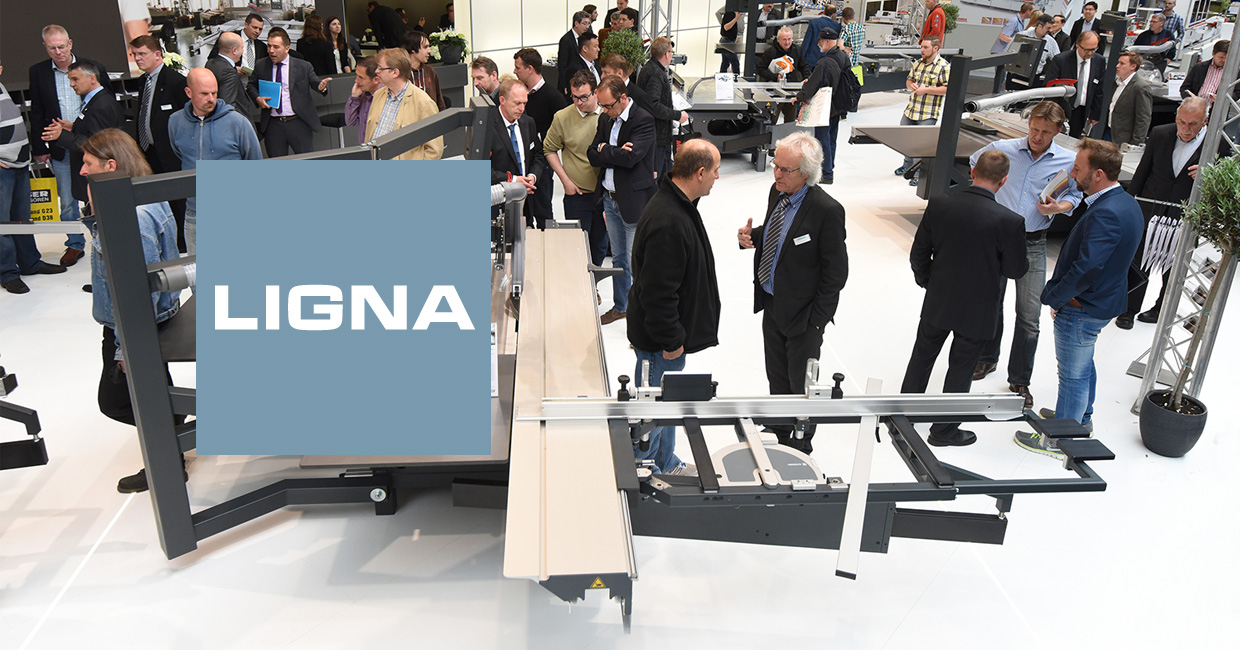 A new layout will greet visitors to Ligna 2017