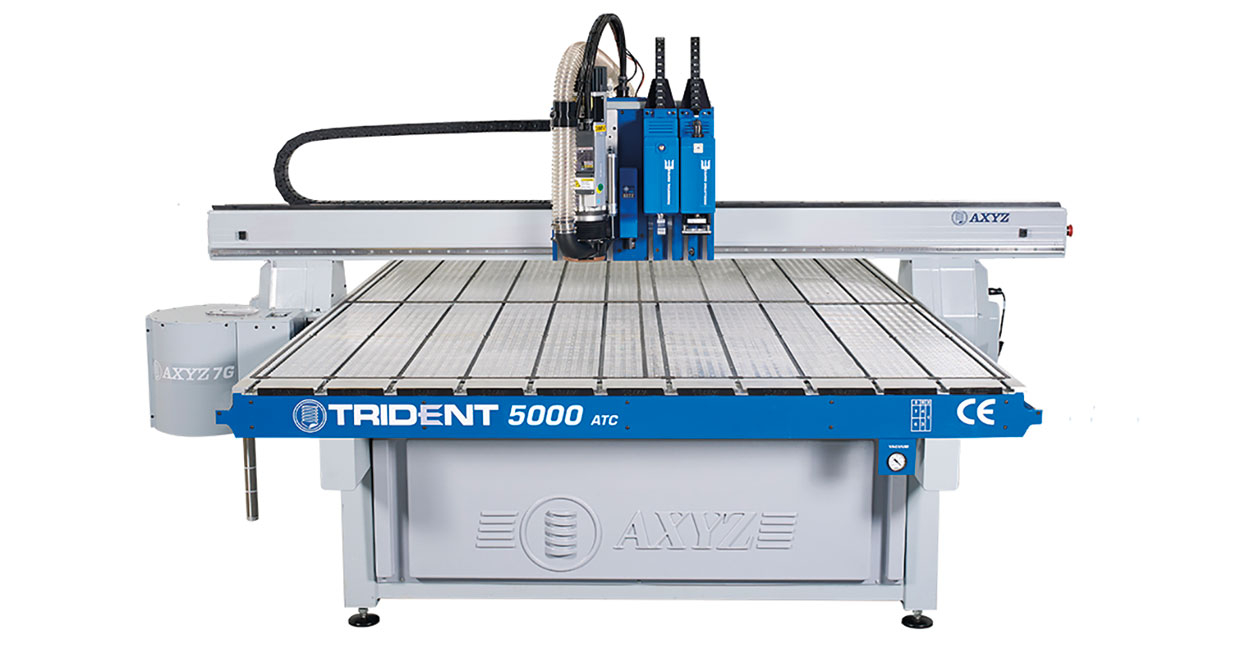 The latest AXYZ Trident will be demonstrated at the open day event