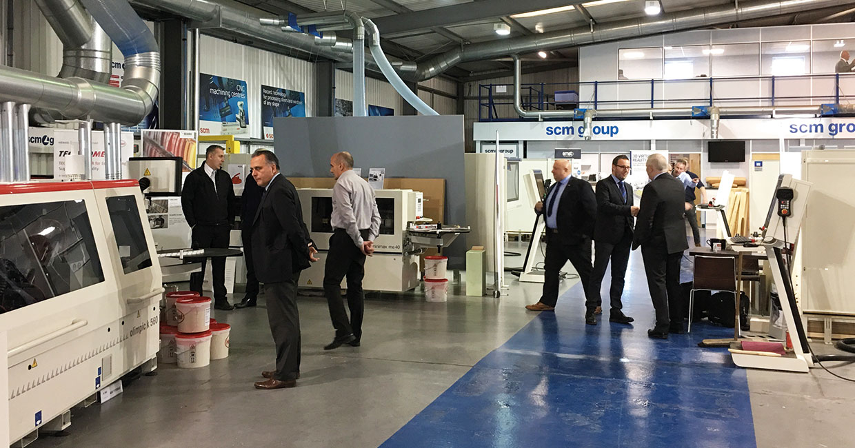 SCM' successful UK open day asked visitors to think about Industry 4.0 objectives
