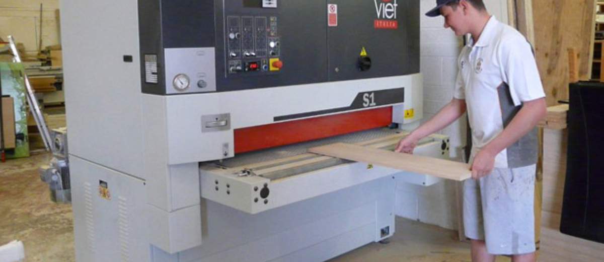 Viet slashes sanding time at Hawkins Joinery