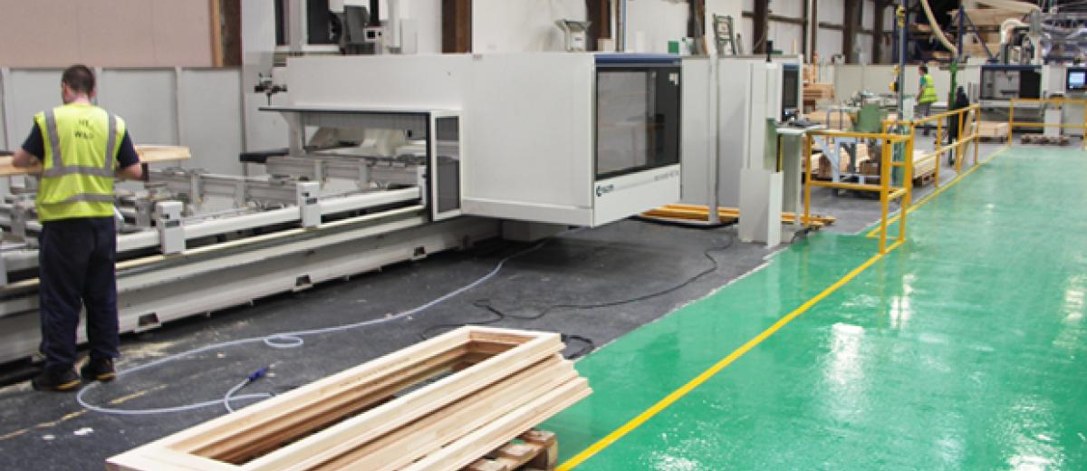 SCM offers comprehensive range of window and door production machinery