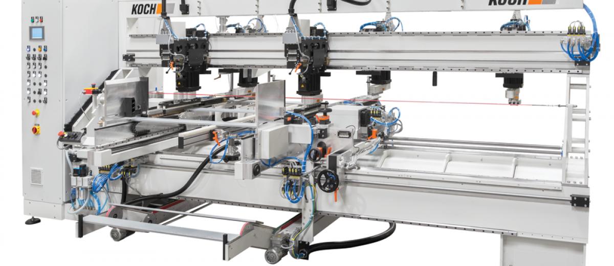 Koch unveils innovations at Ligna