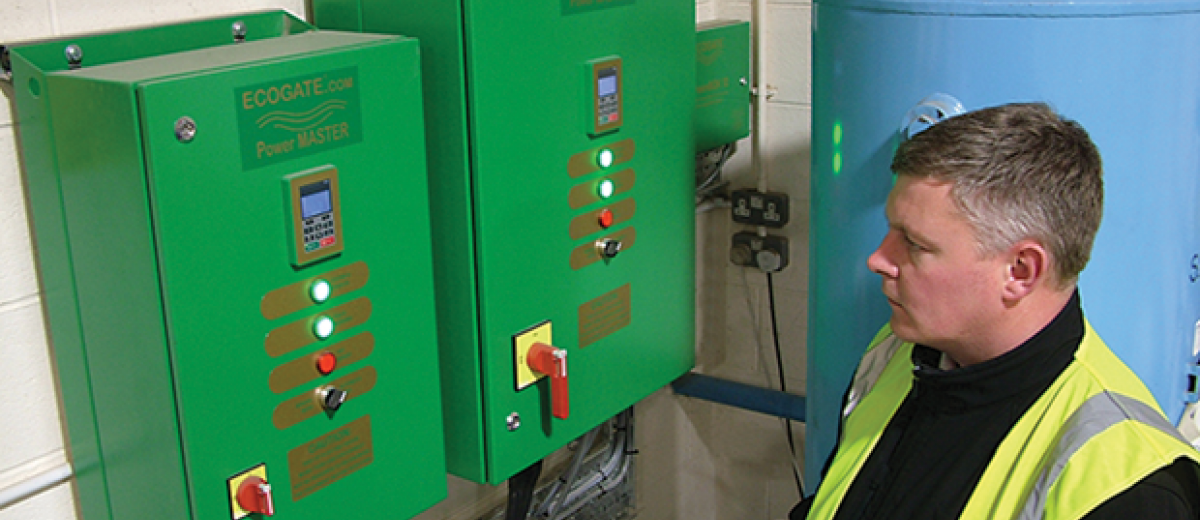 Broadstock saves power with Ecogate