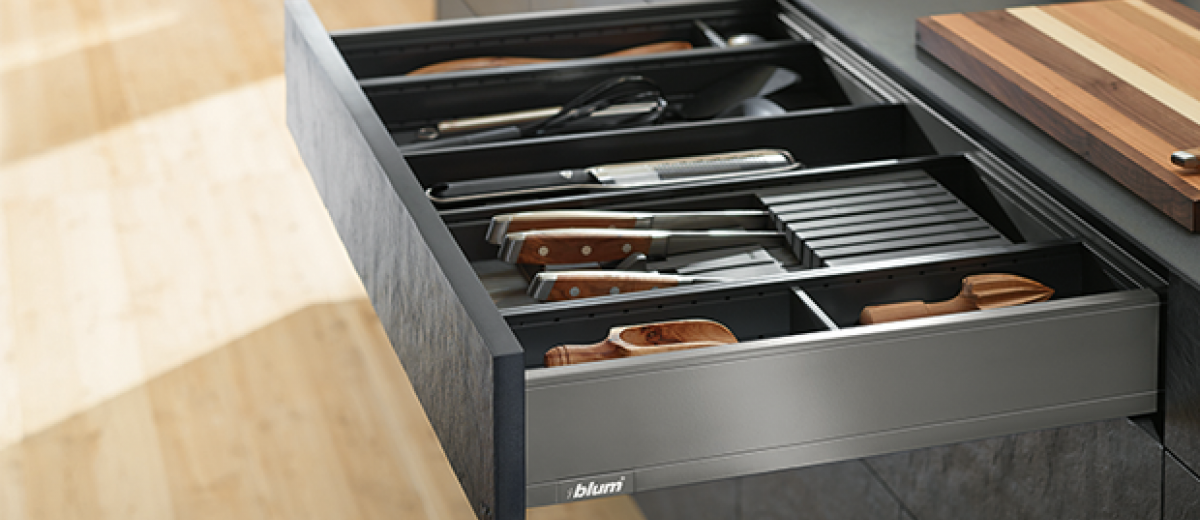 Blum's latest box system is pure elegance