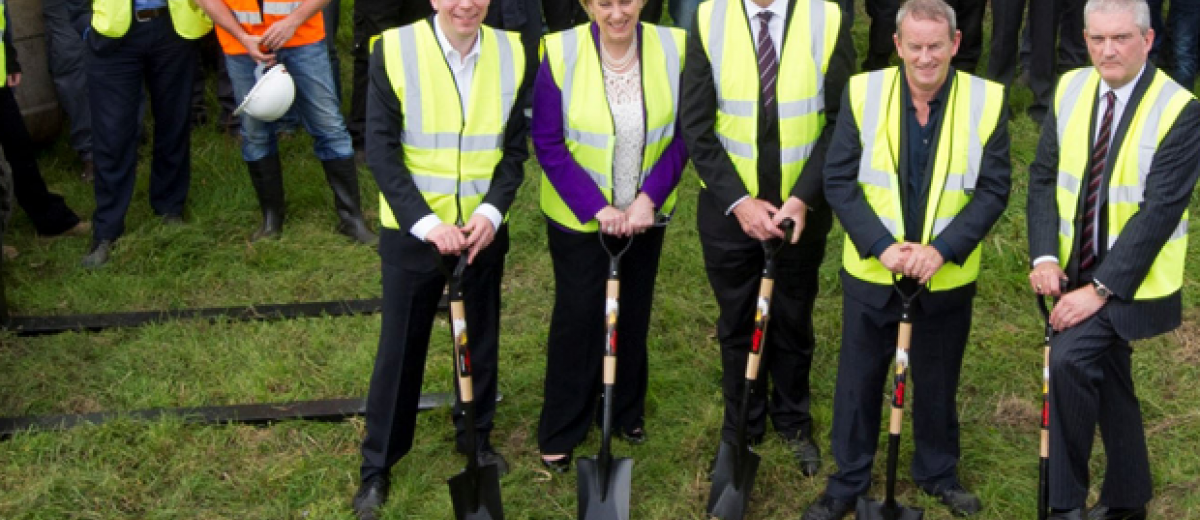 Combilift breaks ground on €40m manufacturing facility
