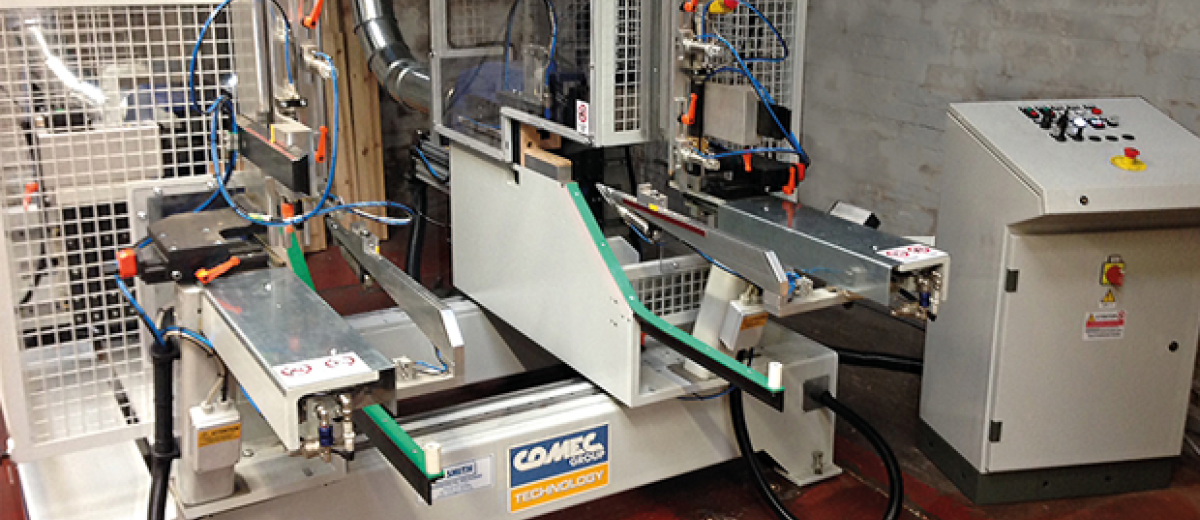 Tonge Bridge Timber Installs Comec high-speed, automatic, double-end notching  machine for door headers