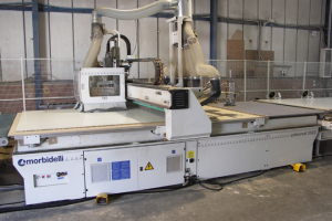 BB Trade kitchens install Morbidelli CNC nesting cell