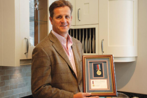 Help for Heroes award for PWS ceo