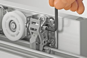 Wide doors that glide? Hettich has the answer