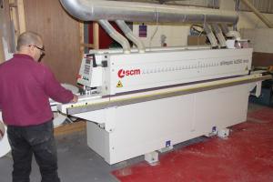 G&J installs SCM edgebander at Rosebirch