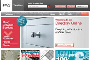PWS' website – just click and deliver