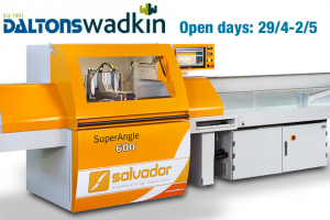 Daltons Wadkin open days for solid timber processing