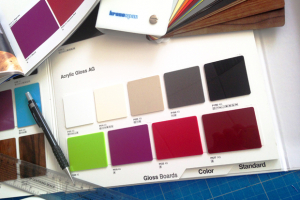 Nine new acrylic gloss surfaces from Kronospan