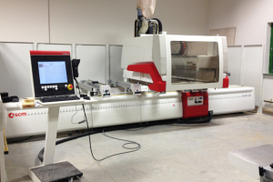 The Saw Centre installs SCM CNC at Malcolm Allan Housebuilders
