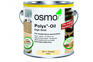 Add shine to wood with Osmo
