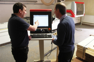 Smart Garden Offices install SCM CNC machining centre