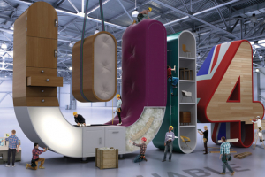 Building W14 – the industry's exhibition