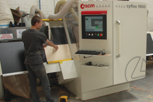 Ridgeway Furniture installs quartet of SCM machines