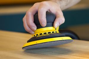 Mirka demonstrates surface finishing innovations at W14