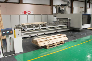 Howarth Windows and Doors install two SCM CNC machining centres