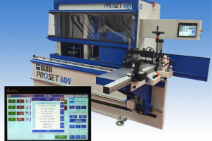 JJ Smith launch new Duin ProSet programmable tenoner