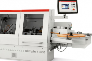 SCM Olimpic K560 – the complete edgebander with a new, two motor rounding unit