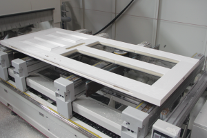 SCM CNC machining centre installed by Frame Fast for composite doors