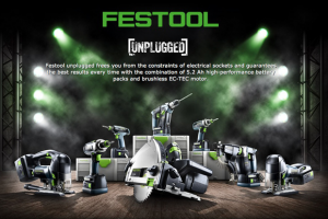 Festool's new generation of cordless power tools