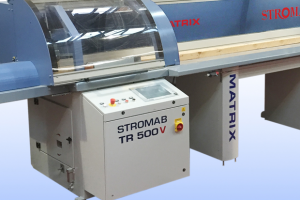Stromab launch new Matrix V high speed crosscut saw
