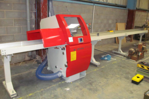 VWM installs its 30th Dominion automatic crosscut saw at Timack NW