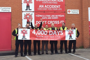 IDS Swindon goes 4000 working days accident free