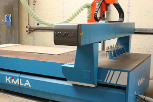Kimla CNC router sets the stage