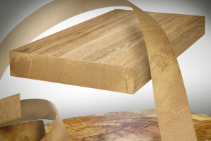Ostermann reveal five new ABS edgings in wood end-grain decor