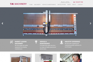 TM Machinery unveils new-look website