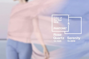 Pantone selects harmonious pink and blue for its colour of the year 2016