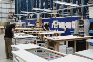 PWS' worktop factory on film